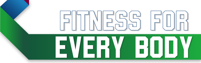 Fitness for everybody ribbon