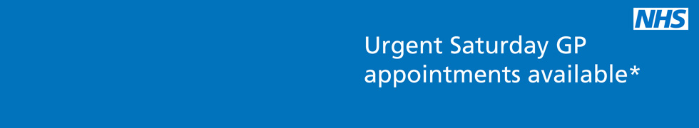 Urgent Saturday GP appointments available