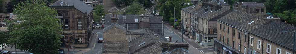 View over Todmorden's rooftops