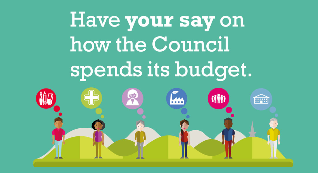 Have your say on the council budget