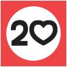 20 mph logo
