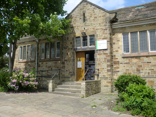 Beechwood Library exterior