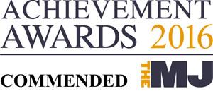 MJ award 2016 - commended