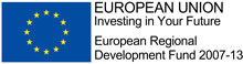 ERDF (European Regional Development Fund) logo