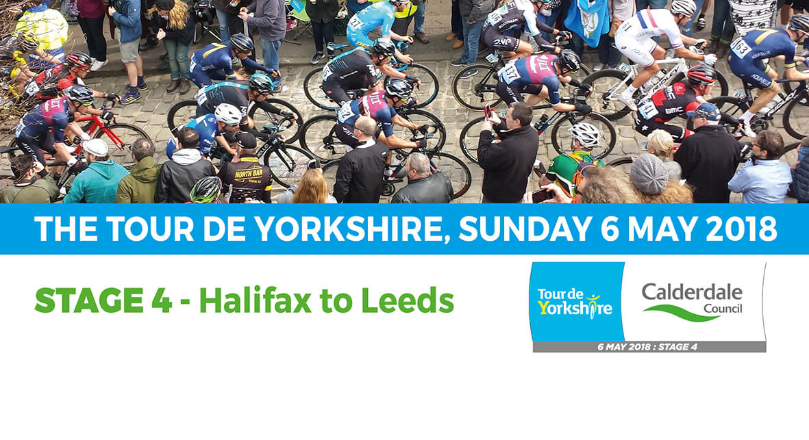 Tour de Yorkshire in Calderdale