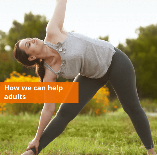 How we can help adults