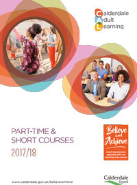 calderdale adult learning brochure