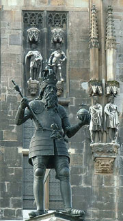 Statue of Charlemagne, Aachen.