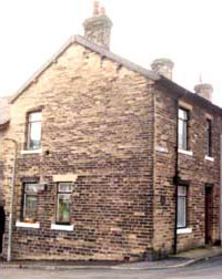 The House at Aspinall Street Mytholmroyd, copyright John Billingsley