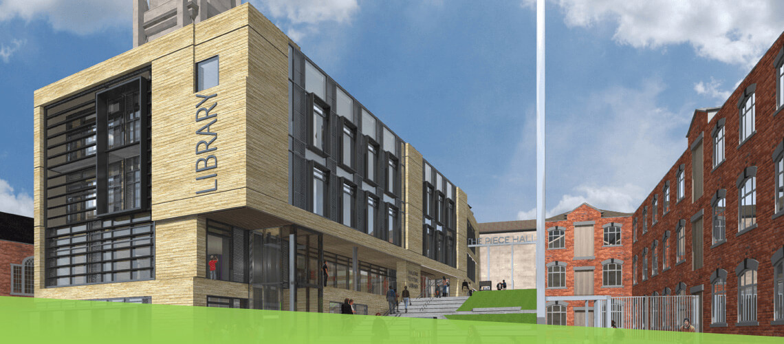 New central library CGI
