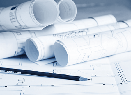 Planning policy and blue prints