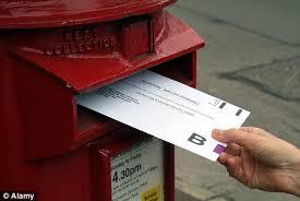 Posting a postal vote