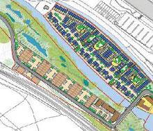 Sowerby Bridge Copley Valley development plan