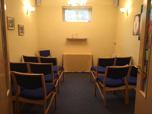Snowdrop Chapel interior