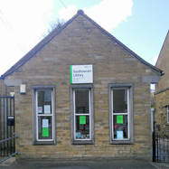 The outside building of Southowram Library