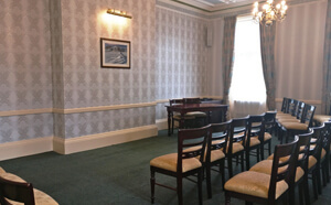 Spring Hall ceremony suite seating