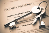keys and tenancy agreement