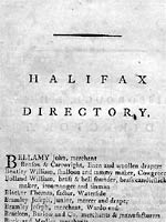 Bailey's Northern Directory for the Year 1781