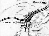 Plan of that part of the River Calder that lies between Sowerby Bridge and Halifax